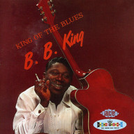 B.B. KING - KING OF THE BLUES (UK) CD