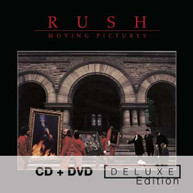 RUSH - MOVING PICTURES (+DVD) (DLX) CD