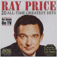 RAY PRICE - 20 ALL TIME GREATEST HITS CD