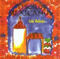LOLA BELTRAN - TESOROS MEXICANOS (MOD) CD