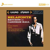 HARRY BELAFONTE - RETURNS TO CARNEGIE HALL (IMPORT) CD