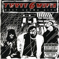 THREE 6 MAFIA - MOST KNOWN HITS CD