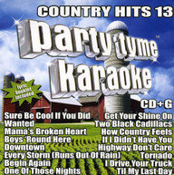 PARTY TYME KARAOKE: COUNTRY HITS 13 VARIOUS CD