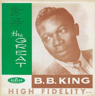 B.B. KING - GREAT B.B. KING (UK) CD