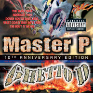 MASTER P - GHETTO D 10TH ANNIVERSARY EDITION (BONUS CD) CD