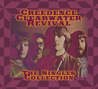CCR (CREEDENCE CLEARWATER REVIVAL) - SINGLES COLLECTION (+DVD) CD