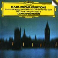 BERNSTEIN /  BBC SYMPHONY ORCHESTRA - ELGAR: ENIGMA VARIATIONS / POMPO & CD
