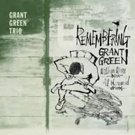 GRANT TRIO GREEN - REMEMBERING GRANT GREEN (BONUS) (TRACKS) CD