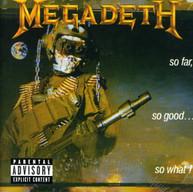 MEGADETH - SO FAR SO GOOD SO WHAT (BONUS TRACKS) CD