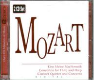 MOZART - CONCERTOS FOR FLUTE & HARP CLARINET QUINTET CD