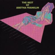 ARETHA FRANKLIN - BEST OF ARETHA FRANKLIN (IMPORT) CD