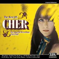 CHER - BEST OF CHER: IMPERIAL RECORDINGS 1965-1968 (UK) CD