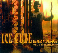 ICE CUBE - WAR & PEACE 1 (WAR) (DISC) CD