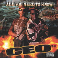 C.E.O. - ALL YOU NEED TO KNOW CD