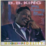 B.B. KING - EASY LISTENING BLUES (UK) CD