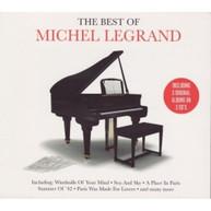 MICHEL LEGRAND - PARIS ROME & VIENNA (UK) CD