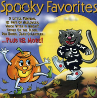 SPOOKY FAVORITES VARIOUS CD