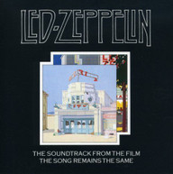 LED ZEPPELIN - SONG REMAINS THE SAME (IMPORT) CD