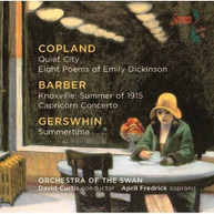 COPLAND ORCH OF THE SWAN CURTIS - MUSIC BY COPLAND & BARBER & CD