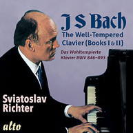 BACH SVIATOSLAV - WELL RICHTER - WELL-TEMPERED CLAVIER (BOOKS) (I) (&) CD