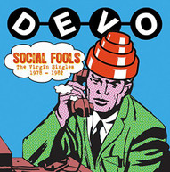 DEVO - SOCIAL FOOLS: VIRGIN SINGLES COLLECTION (UK) CD