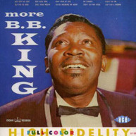B.B. KING - MORE B.B. KING (UK) CD