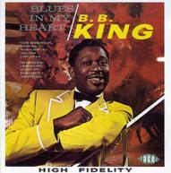 B.B. KING - BLUES IN MY HEART (UK) CD