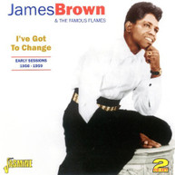 JAMES BROWN - EARLY SESSIONS 1956-59 (UK) CD