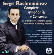 RACHMANINOFF RICHTER SIMON LONDON SYM ORCH - COMPLETE SYMPHONIES & CD
