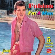 FABIAN - I'M A MAN:5 ALBUMS 1959-61 (UK) CD