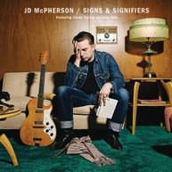 JD MCPHERSON - SIGNS & SIGNIFIERS (DIGIPAK) CD