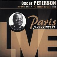 OSCAR PETERSON - PARIS JAZZ CONCERT LIVE (IMPORT) CD