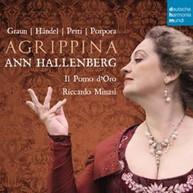 ANN HALLENBERG - AGRIPPINA: OPERA ARIAS BY GRAUN HANDEL (IMPORT) CD
