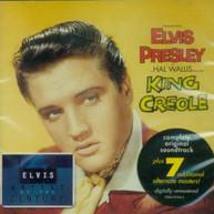 ELVIS (BONUS TRACKS) PRESLEY - KING CREOLE SOUNDTRACK (BONUS TRACKS) CD