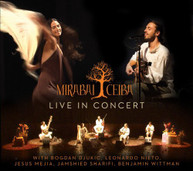 MIRABAI CEIBA - LIVE IN CONCERT (DIGIPAK) CD