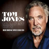 TOM JONES - GREATEST HITS REDISCOVERED (UK VERSION) CD
