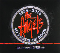 ANGELS - 40 YEARS OF ROCK-40 GREATEST STUDIO HITS 1 CD
