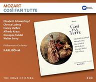 MOZART KARL BOHM - COSI FAN TUTTE CD