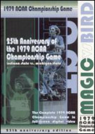 1979 NCAA CHAMPIONSHIP GAME MIGIC VS BIRD DVD