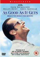 AS GOOD AS IT GETS (UK) DVD
