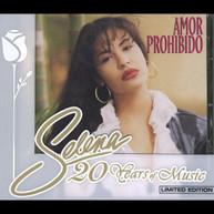 SELENA - AMOR PROHIBIDO (BONUS TRACKS) (LTD) CD