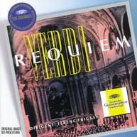 VERDI FRICSAY RIAS SYMPHONY ORCHESTRA & CHORUS - REQUIEM (IMPORT) CD