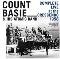 COUNT BASIE & HIS ATOMIC BAND - COMPLETE LIVE AT THE CRESCENDO 1958 CD