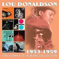 LOU DONALDSON - COMPLETE ALBUMS COLLECTION: 1953-1959 CD