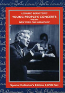 BERNSTEIN NEW YORK PHILHARMONICS - YOUNG PEOPLE'S CONCERT (9PC) DVD