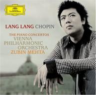 LANG LANG CHOPIN VPO MEHTA - PIANO CONCERTOS 1 & 2 CD