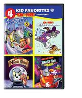 4 KID FAVORITES: TOM & JERRY ADVENTURES (4PC) DVD