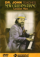 DR JOHN - DR JOHN TEACHES NEW ORLEANS PIANO 2 DVD