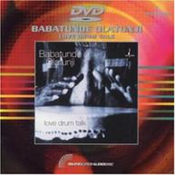 BABATUNDE OLATUNJI - LOVE DRUM TALK DVD