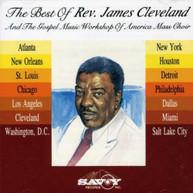 REV JAMES CLEVELAND GMWA - BEST OF REV JAMES CLEVELAND & GMWA CD